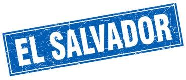 El Salvador stamp. El Salvador square grunge stamp. El Salvador sign. El Salvador stock illustration