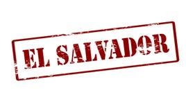 El salvador. Stamp with text El Salvador inside, illustration royalty free illustration