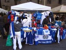 El Salvador T-tröjaStand Fotografering för Bildbyråer