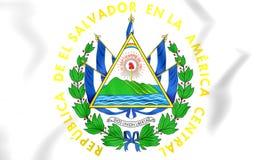El Salvador vapensköld Arkivfoto