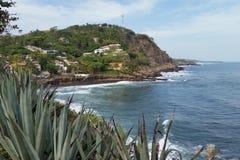 El Salvador vid havet Royaltyfria Bilder