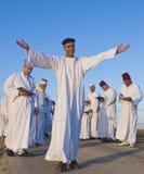 El samaritano Shavuot ruega Fotografía de archivo libre de regalías