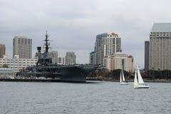 El San Diego Waterfront Imágenes de archivo libres de regalías