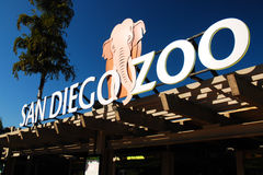 El San Diego Zoo Foto de archivo