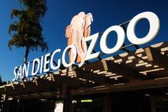 El San Diego Zoo Foto de archivo libre de regalías