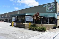 El San Francisco Flower Mart la manera que ahora mira, 4 imágenes de archivo libres de regalías