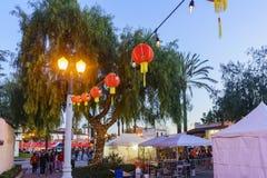 El San Gabriel Chinese New Year Event Foto de archivo libre de regalías