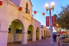 El San Gabriel Chinese New Year Event Imagen de archivo libre de regalías