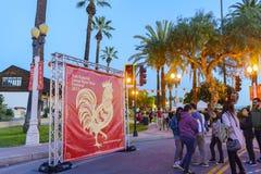El San Gabriel Chinese New Year Event Fotografía de archivo libre de regalías