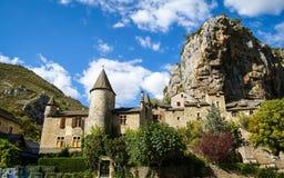 El santo Chely du el Tarn, el Tarn Gorges, Francia imagen de archivo