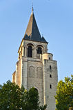 El Santo-Germán-DES de la iglesia - Pres Imagen de archivo