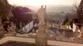 El santuario de Bom Jesús hace a Monte almacen de video