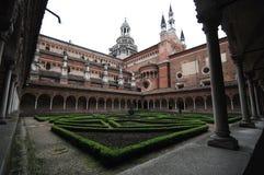 El santuario de Certosa Fotografía de archivo libre de regalías