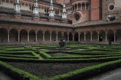 El santuario de Certosa Foto de archivo