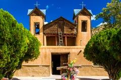 El Santuario de Chimayo Imágenes de archivo libres de regalías