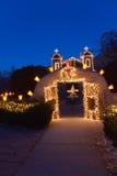 El Santuario de Chimayo Christmas Stock Images