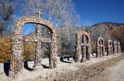 El Santuario de Chimayo, New Mexico Stock Photography