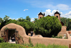El Santuario de Chimayo Stock Photography