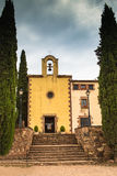 El santuario de Puiggracios Foto de archivo