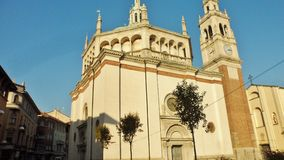 El santuario de Santa Maria di Piazza fotos de archivo