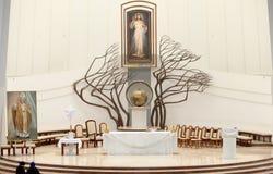 El santuario divino de la misericordia Imagen de archivo