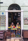 El sao típico Luis del restaurante hace Maranhao el Brasil Imagen de archivo