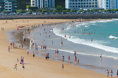El Sardinero beach Royalty Free Stock Photo