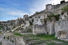 El Sassi de Matera, Italia Imagen de archivo