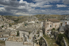 El Sassi de Matera, Italia del sur. Fotos de archivo