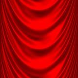 El satén rojo grande cubre 2 Fotografía de archivo libre de regalías