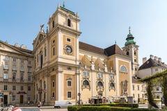 El Schottenstift (abadía escocesa) en Viena Imagen de archivo