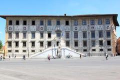 El Scuola Normale Superiore en Pisa, Italia Imagenes de archivo