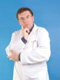 El señalar del médico de cabecera fotos de archivo