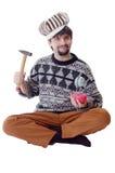 El señor del martillo imágenes de archivo libres de regalías