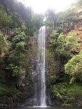 El secreto baja en Kauai Hawaii Imágenes de archivo libres de regalías