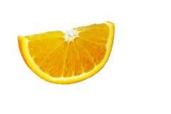 El segmento anaranjado Fotografía de archivo libre de regalías