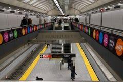 El segundo subterráneo 25 de la avenida Fotografía de archivo libre de regalías