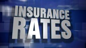 El seguro dinámico valora la transición y el fondo almacen de metraje de vídeo