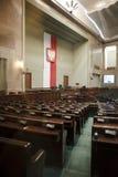 El Sejm - el parlamento polaco Imágenes de archivo libres de regalías
