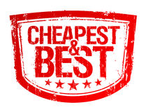 El sello más barato y mejor. Foto de archivo