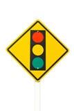 El semáforo. Fotografía de archivo