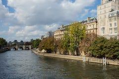 El Sena París Fotos de archivo libres de regalías