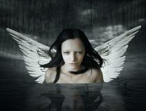 El ser angelical Imágenes de archivo libres de regalías