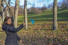 El ser humano alcanza el agua Imagen de archivo libre de regalías