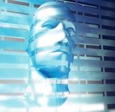 El ser humano tiene gusto de la cara Imagen de archivo libre de regalías