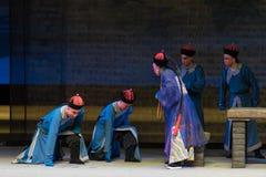 """El Shan de Qing Dynasty genuflexión-Shanxi Operatic""""Fu al  de Beijing†fotografía de archivo libre de regalías"""