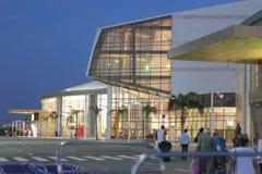 EL Sheikh Airport de Sharm da construção Imagem de Stock Royalty Free