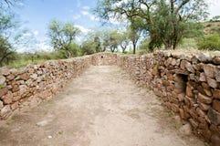 El Shincal Inca Ruins - Catamarca - Argentina royaltyfri foto