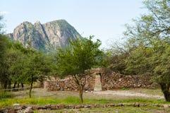 El Shincal Inca Ruins - Catamarca - Argentina fotografering för bildbyråer