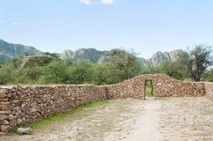 El Shincal Inca Ruins - Catamarca - Argentina royaltyfria foton